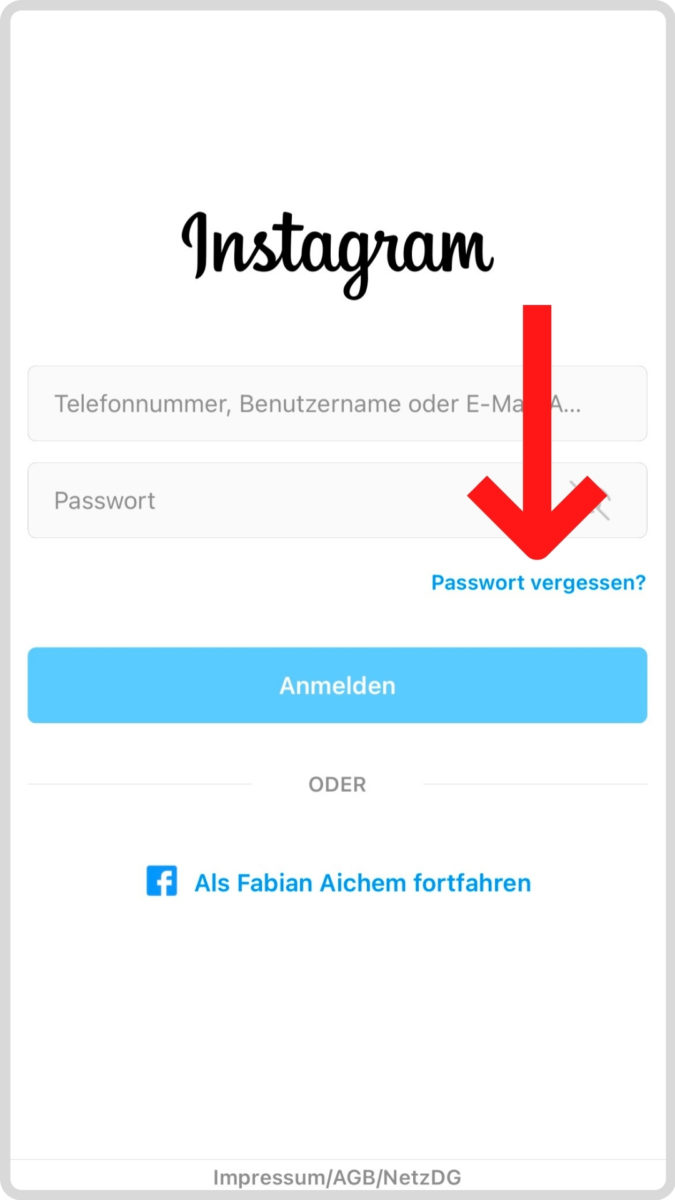 Hacked Instagram Account
